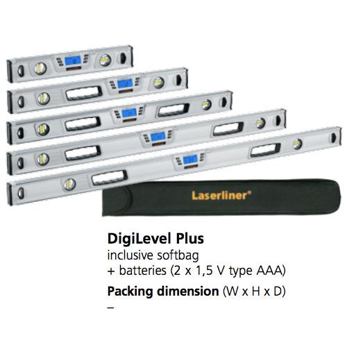 تراز دیجیتال لیزرلاینر مدل  سایز 40 سانتیمتر