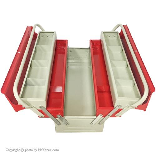 جعبه ابزار لومانو 50 سانتی 3 طبقه مدل 503