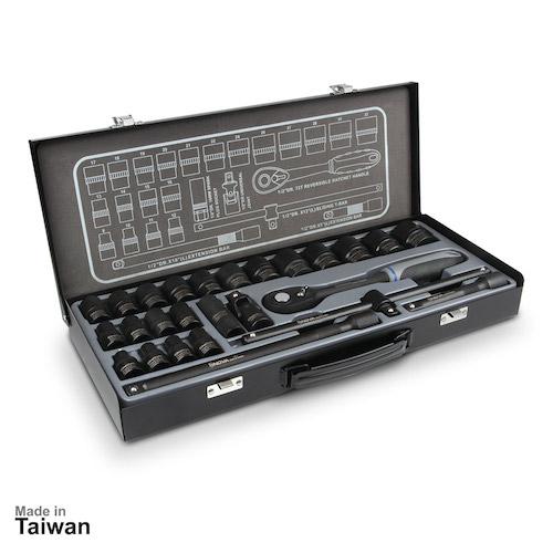 جعبه بکس مشکی نووا مدل NTS 7000 سایز 1/2 -26 پارچه