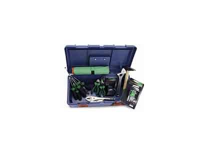 جعبه ابزار 30 پارچه خانگی آبی تاپ تول TOPTUL