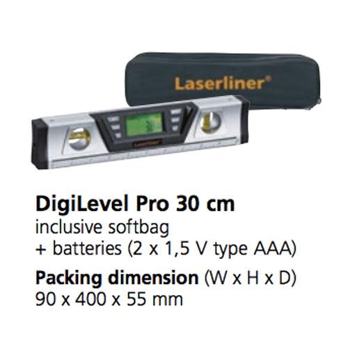 تراز دیجیتال لیزرلاینر  مدل 081.212A سایز 30 سانت
