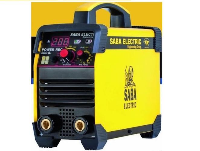 اینورتر جوشکاری ۲۰۰ آمپر صبا الکتریک مدل SABA-200-A2