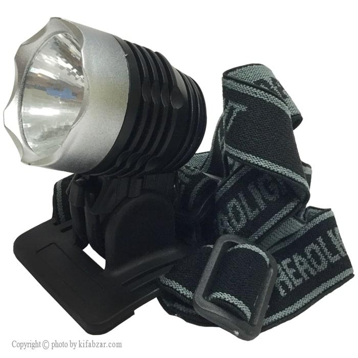 چراغ پیشانی بند تک لامپ سه حالته فارول