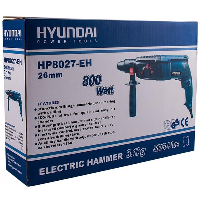 دریل بتن کن هیوندای مدل HP8027P-EH