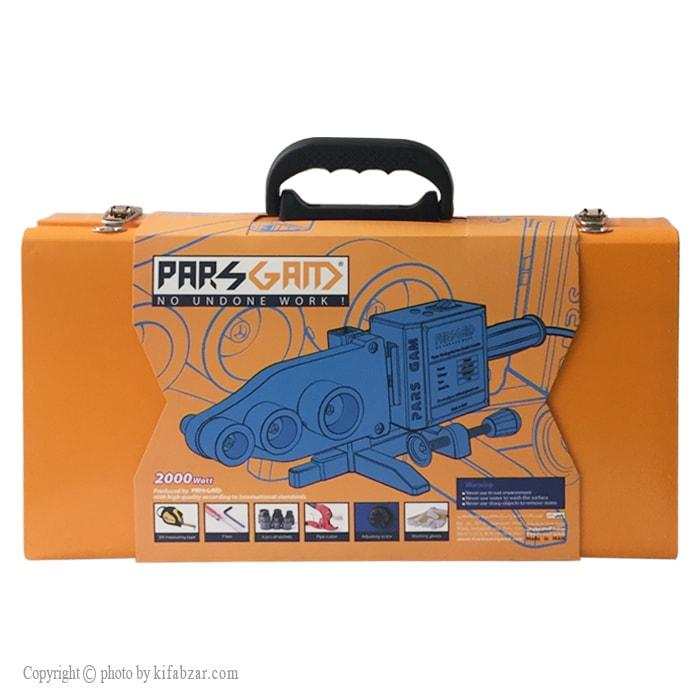 دستگاه جوش لوله سبز پارس گام مدل TRZ300-P به همراه لوازم جانبی