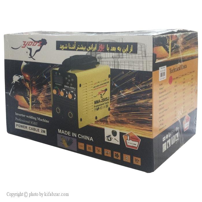 دستگاه جوش یوز مدل MMA-200SJ سه ولوم