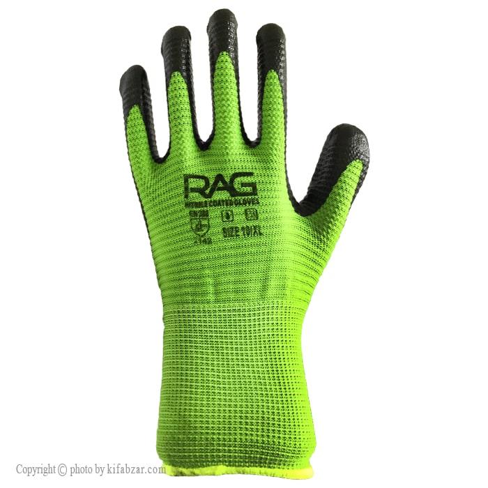 دستکش ایمنی ضدبرش راگ