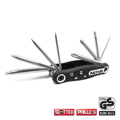 پیچ گوشتی چاقویی نووا مدل NTK1139 سایز 8 عددی