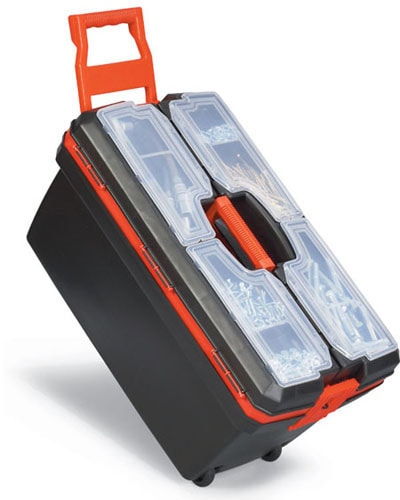 جعبه ابزار پلاستیکی پورتبگ مدل P.O.09M چرخ دار
