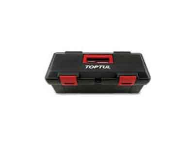 جعبه ابزار پلاستیکی (مشکی) تاپ تول TOPTUL