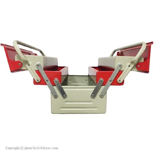 جعبه ابزار لومانو 30 سانتی 3 طبقه مدل 303