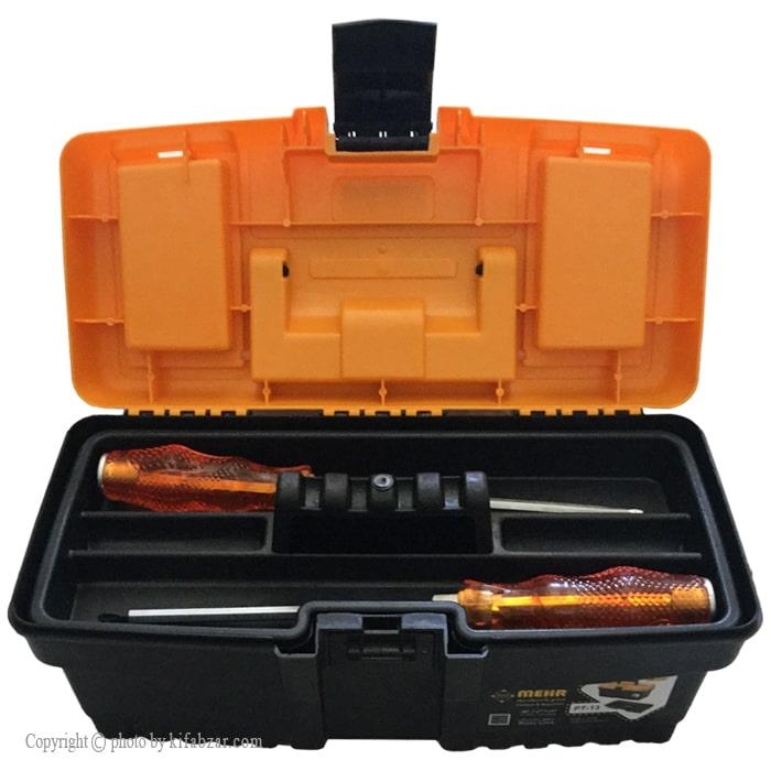جعبه ابزار پلاستیکی مهر مدل PT13
