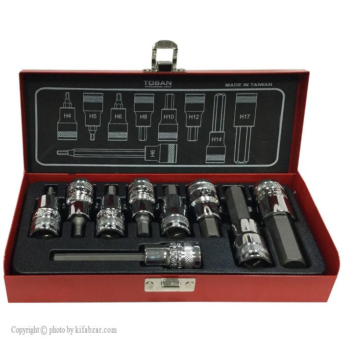 جعبه بکس آلنی توسن مدل T1253-9H شش گوش