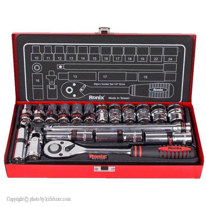 جعبه بکس رونیکس 20 پارچه مدل RH-2620