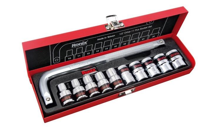 جعبه بکس رونیکس مدل RH-2610 سایز 11 پارچه