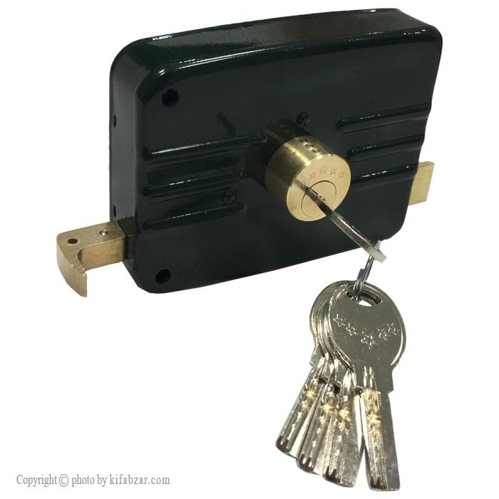 قفل در حیاطی پنچ ستاره مدل 52-55