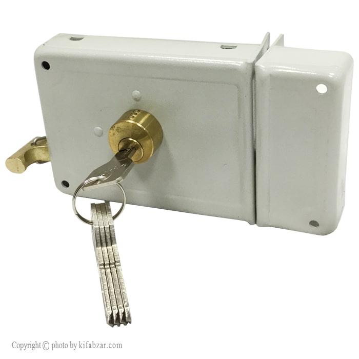 قفل درب حیاطی باتیس طرح ژوئیل مدل 4204-ECO