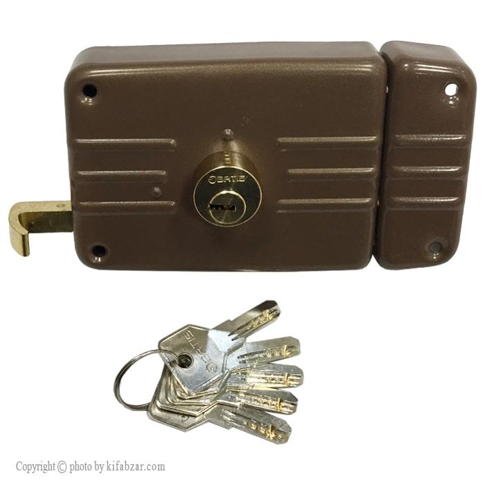 قفل درب حیاطی باتیس طرح ایزو مدل 6206
