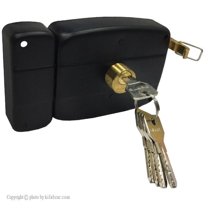 قفل درب حیاطی باتیس طرح کالی مدل 2202-ECO