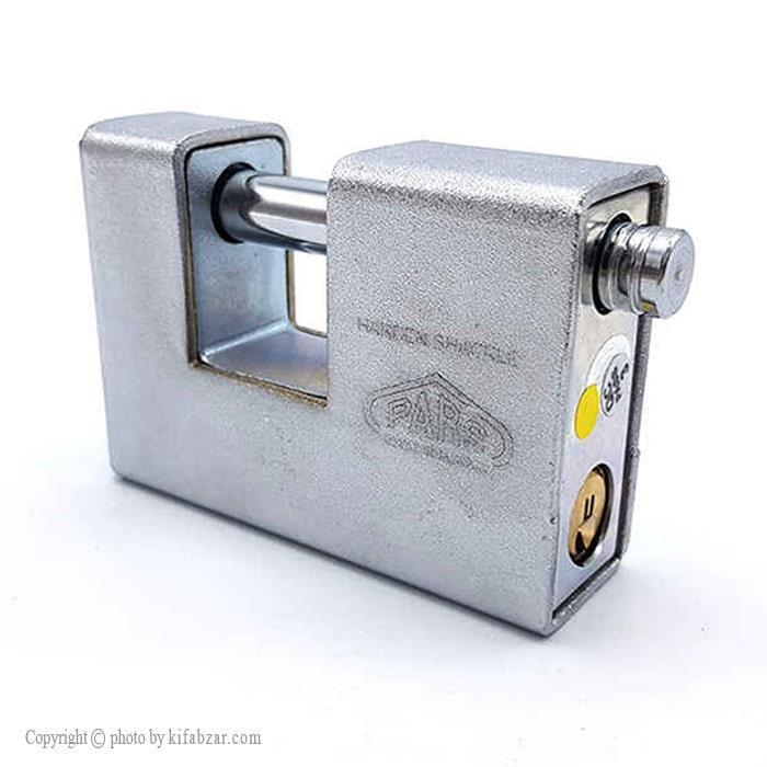 قفل کتابی ایرانی پارس مدل 900DX کلید دوشیار