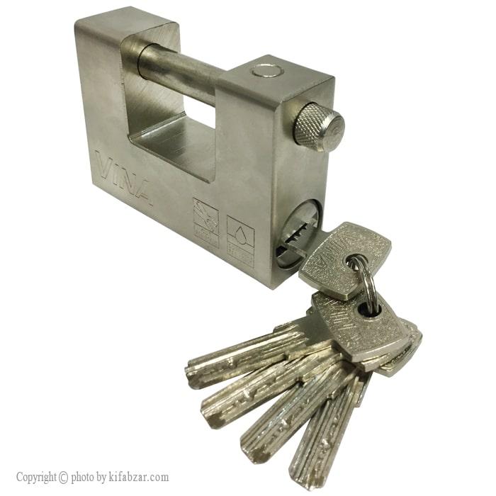قفل کتابی فولادی وینا مدل VINA94