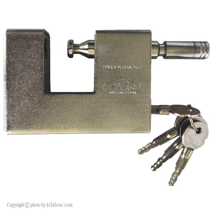 قفل کتابی پارس قفل مدل 900SX کلید چهارپر