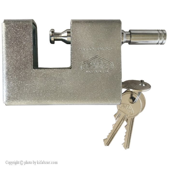 قفل کتابی پارس مدل 900S کلید معمولی