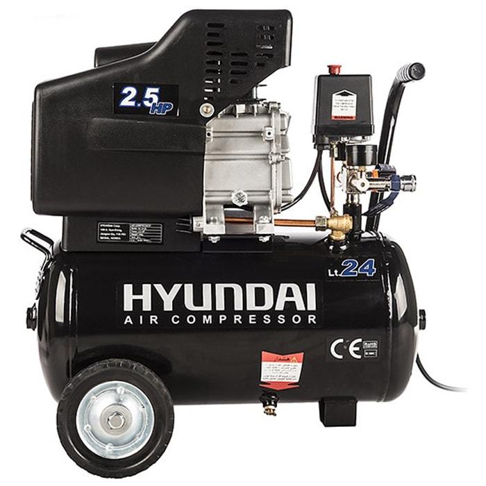 کمپرسور باد هیوندای مدل AC-2425 سایز 24 لیتری