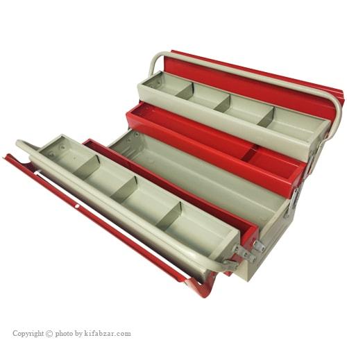 جعبه ابزار لومانو 40 سانتی 3 طبقه مدل 403