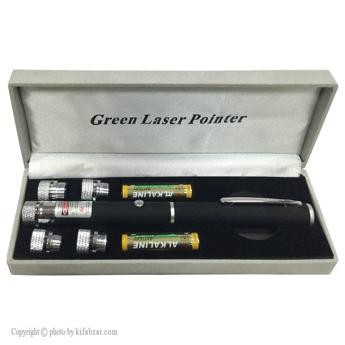 لیزر نقطه ای چند حالته نور سبز لیزرپوینتر