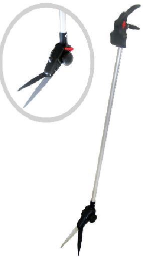 قیچی چمن زن 1.3 متری آلومینیومی با دسته بلند بهکو BEHCO