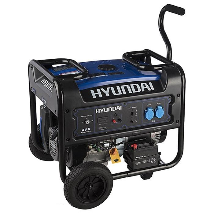 موتور برق هیوندای مدل HG8550-PG توان 6000 وات