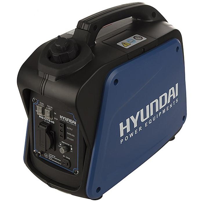 موتور برق (ژنراتور) سایلنتی هیوندای مدل HG1210-IG توان 1200 وات
