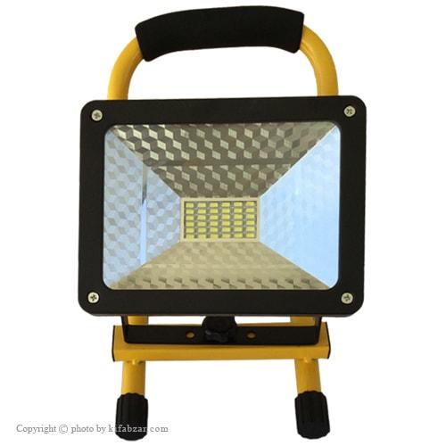نورافکن پروژکتور شارژی 30 وات مدل LED FLOOD Light دو حالته