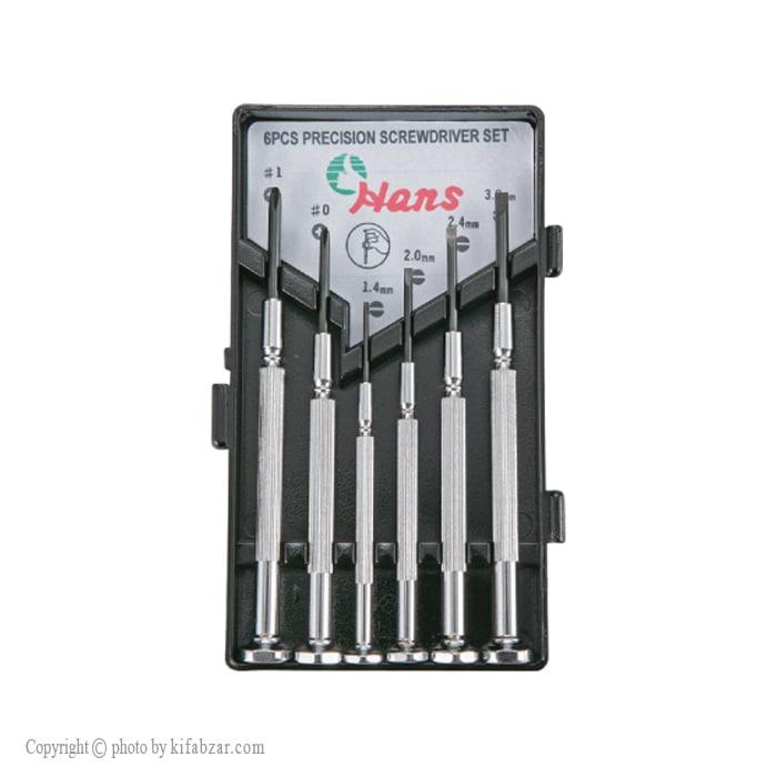 پیچ گوشتی ساعتی هنس مدل 06100-6