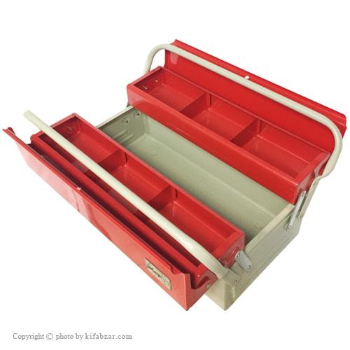 جعبه ابزار لومانو 40 سانتی 2 طبقه مدل 402