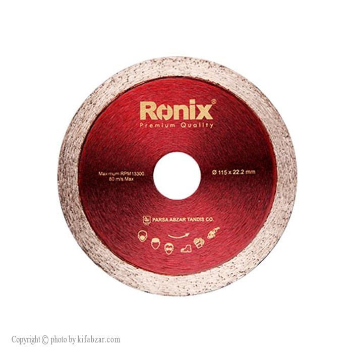 صفحه سرامیک بر رونیکس مدل RH-3507 سایز 115 میلی متری
