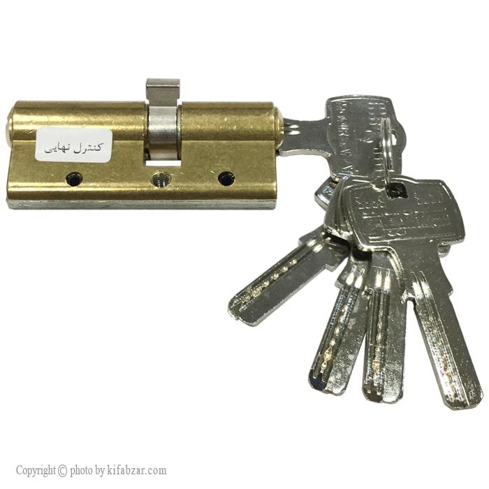 سیلندر قفل منیر صنعت مدل 60 کامپیوتری