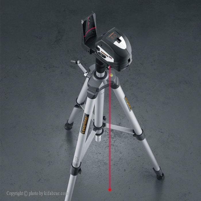 تراز لیزری لیزرلاینر مدل 060.101A دارای 5 نقطه شاقول