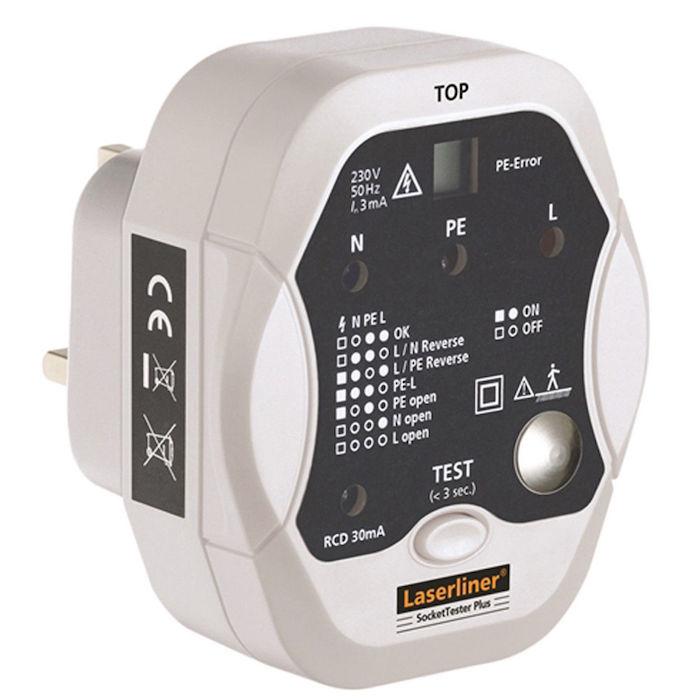 تستر پریز برق لیزرلاینر مدل 083.027a