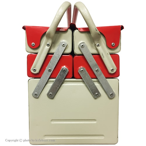 جعبه ابزار لومانو 40 سانتی 3 طبقه مدل 403B